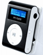 Mp3 atskaņotājs LCD Micro SD, mp3 player, Black
