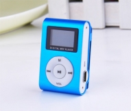 Mp3 atskaņotājs LCD Micro SD, mp3 player, Blue