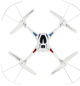 Kvadrokopteris ar HD kameru; 2.4GHz 6 Axis Gyro RC Quadcopter 360 Degree Rotation, drons