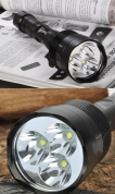 Lukturis Led Cree T6x3 3800 Lm