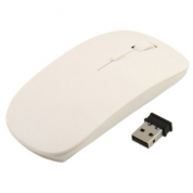 usb wireless mouse Ultra Slim, white