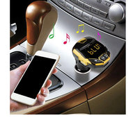 Fm transmiteris modulators ar bluetooth, handsfree
