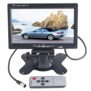 Monitors 7'' HD Car, Dual camera, Cristal clear image 12v