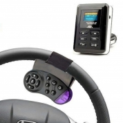 FM modulators Transmiters LCD Hands Free, Bluetooth, Black