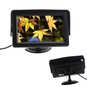 Monitors 4.3'', dual camera, auto power on, 12v