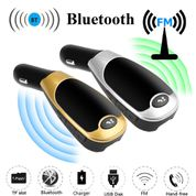 Fm transmiteris - modulators ar bluetooth un handsfree X6